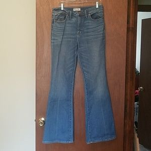 Madewell flare jeans size 31